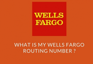 wells fargo bank routing no.