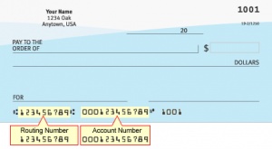 Charles Schwab Routing Number