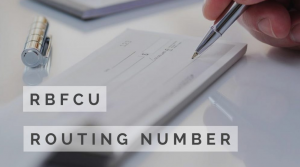 RBFCU routing number