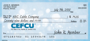 cefcu routing numbers