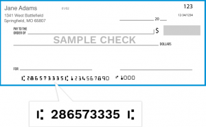 guaranty bank routing number
