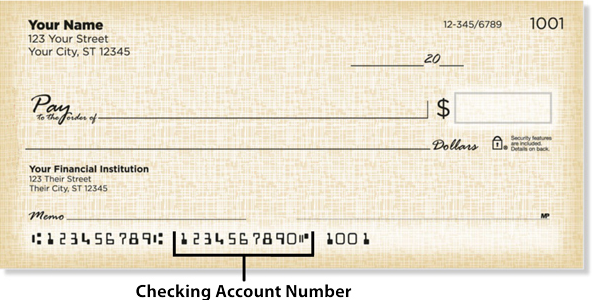 summit credit union routing number on check